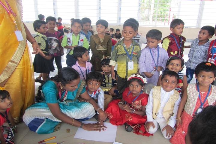 Mahendra International School-Colours Day