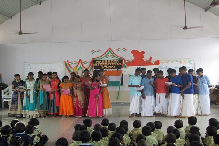 Mahendra International School-Independence Day Celebration