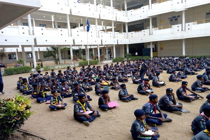 Mahendra International School-Scout Camp
