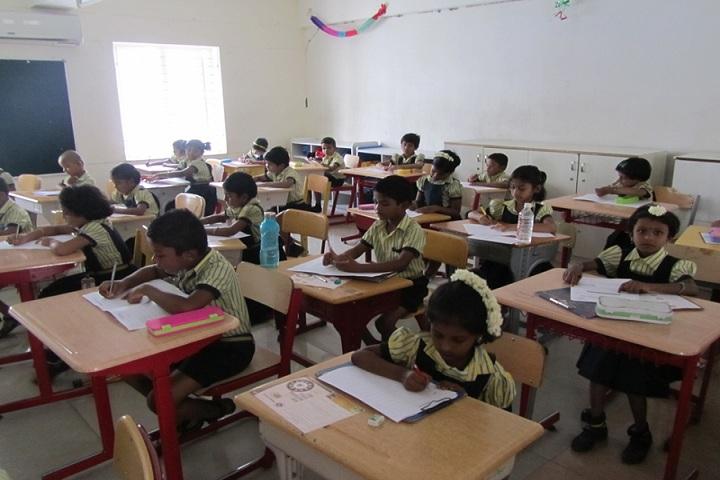 Mahendra International School-Spellbee Exams