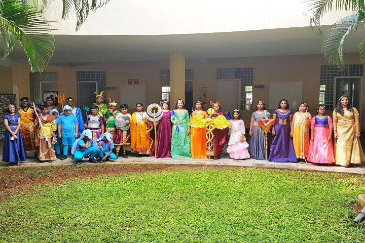 Mahindra World School-Fancy Dress
