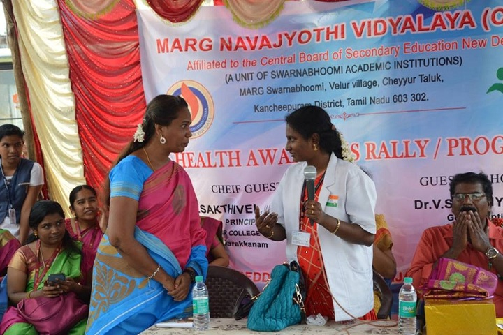 Marg Navajyothi Vidyalaya - Health Awareness Program