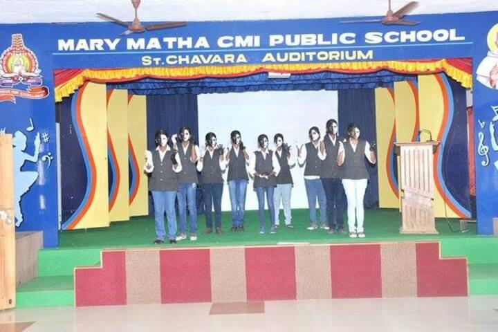 Mary Matha CMI Public School-Event