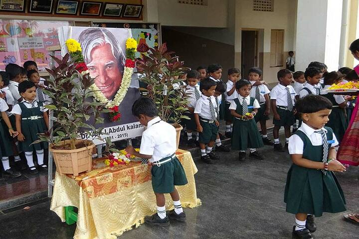 Montfort School-APJ Abdul Kalam Jayanthi