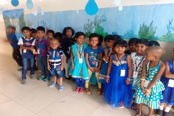 Mount Litera Zee School-Blue Day Celebration