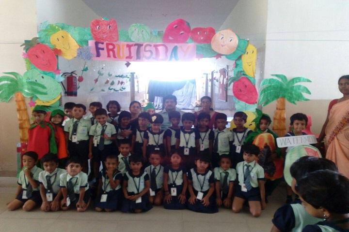 Mount Litera Zee School-Fruits Day Celebration