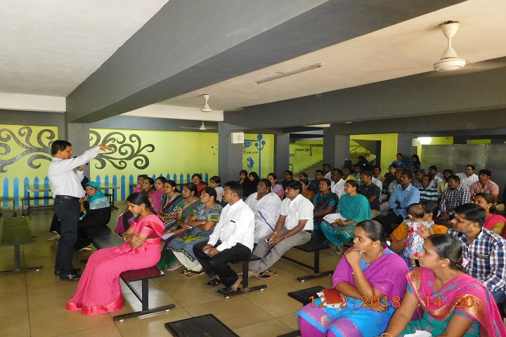 Mount Litera Zee School-Parent Meeting