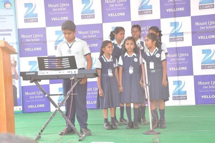 Mount Litera Zee School-Music Performance