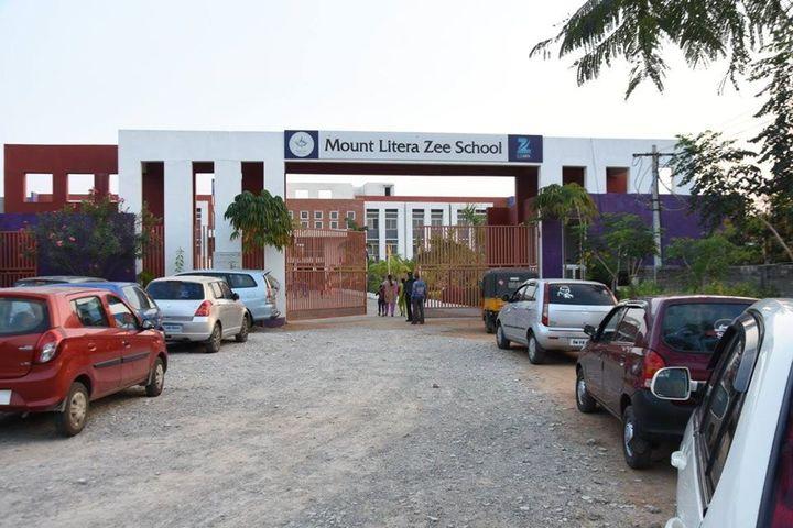 Mount Litera Zee School-School Entrance