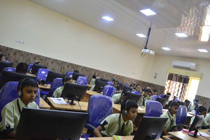 Mount Litera Zee School-The Language lab