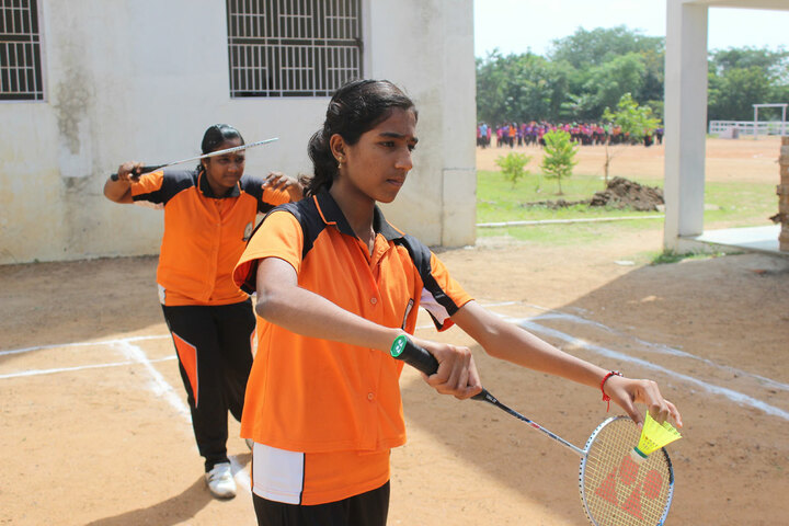 Mount Zion International School-Badminton
