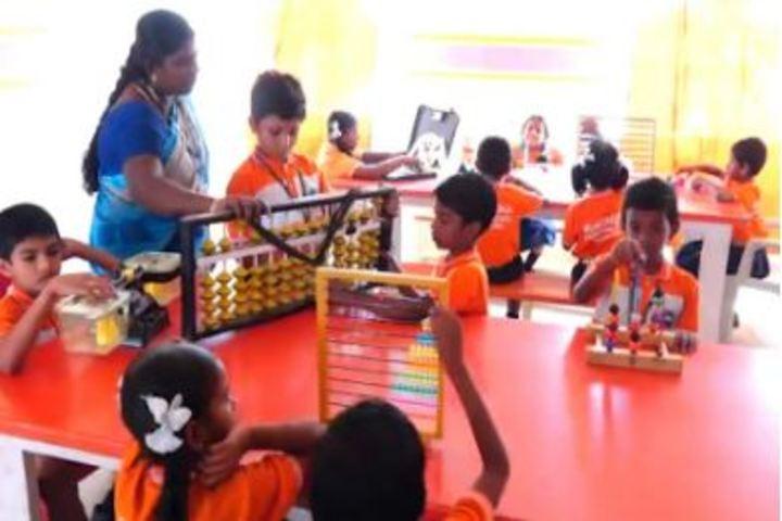 Mukundha International School-Math Activity