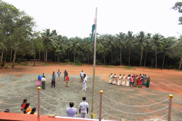 N V K S Higher Secondary School-Independence Day