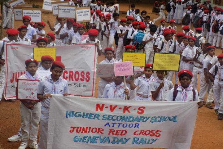 N V K S Higher Secondary School-Jeneva Day Rally