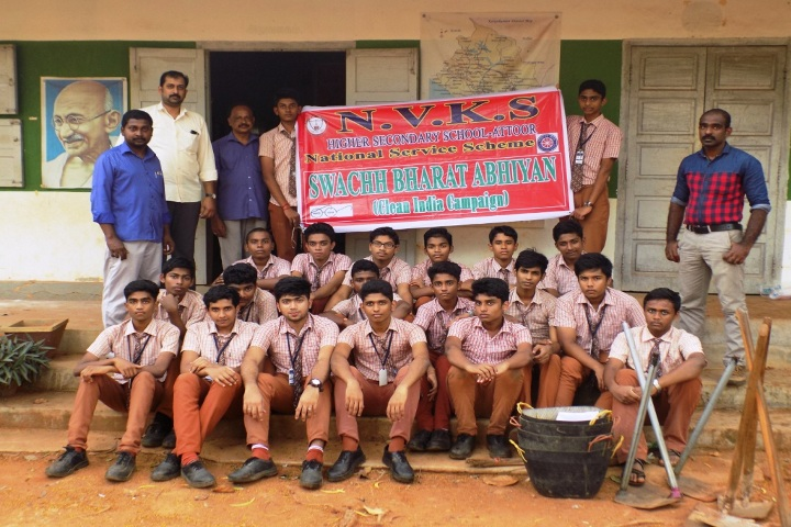 N V K S Higher Secondary School-Swachh Bharat Abhiyan