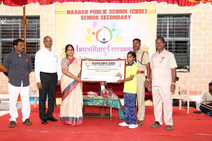 Naahar Public School-Investiture Ceremony