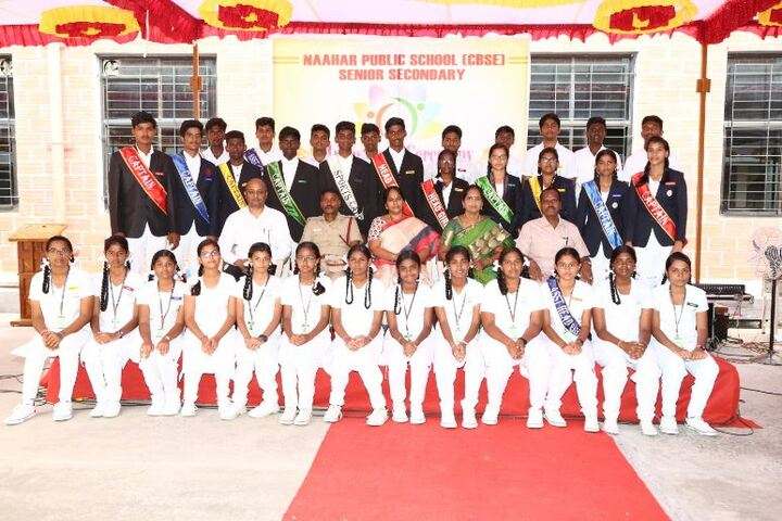 Naahar Public School-Students and Staff