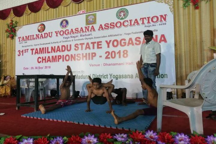 Naahar Public School-Yoga