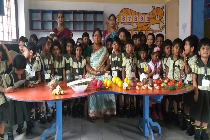 Nairs Vidhya Mandhir-Fruit Day