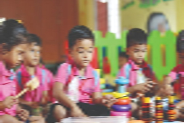 Nalanda International Public School- Kids Play Area