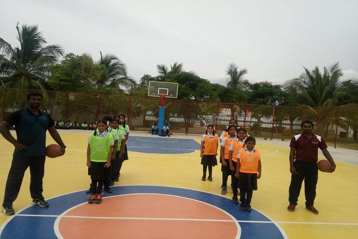 Nalanda International Public School-Basket Ball Court