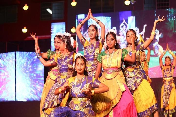 Nalanda International Public School-Cultural Dance