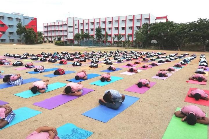Nalanda International Public School-Yoga