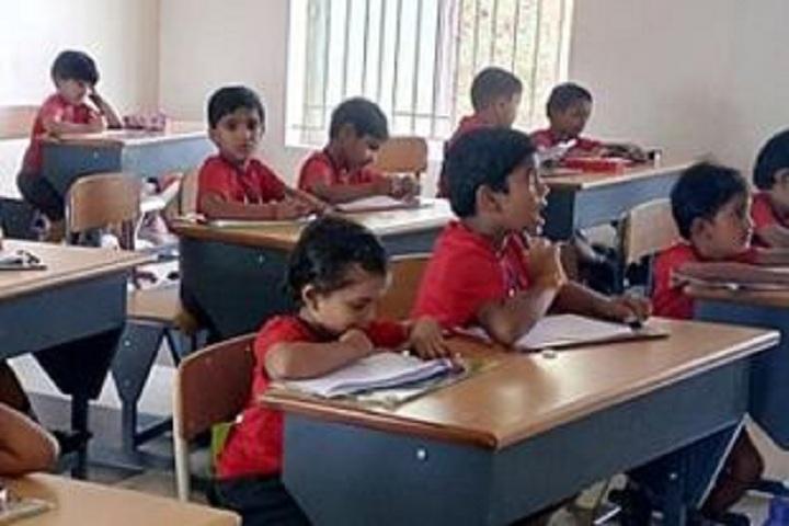 Nandha Central City School-Classroom
