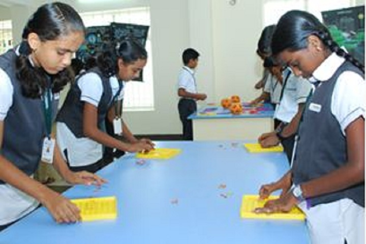 Nandha Central City School-Maths Activity