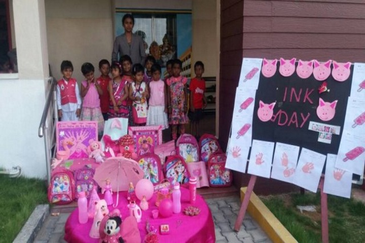 Nandha Central City School-Pink Day