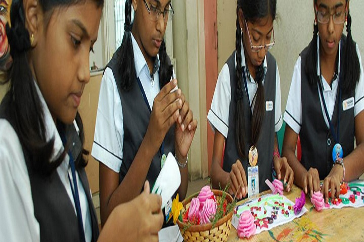 Nandha Central School-Art and Craft