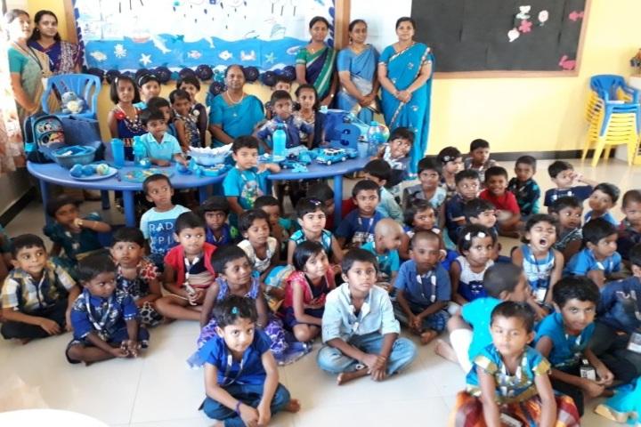 Nandha Central School-Blue Day