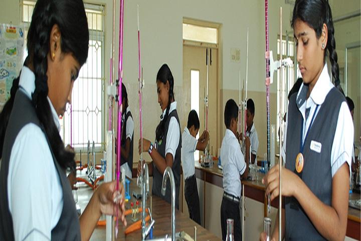Nandha Central School-Chemistry Lab