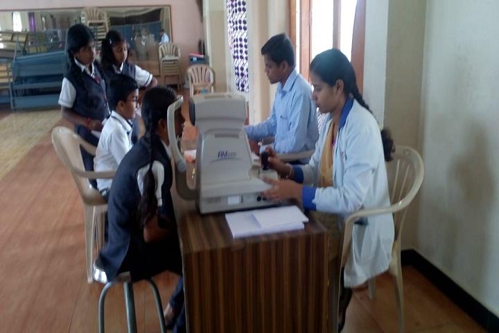 Nandha Central School-Eye Camp