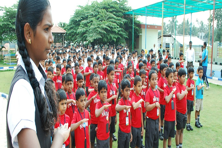 Nandha Central School-Morning Assembly