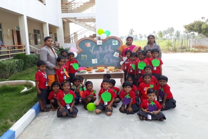 Nandha Central School-Vegetable Day