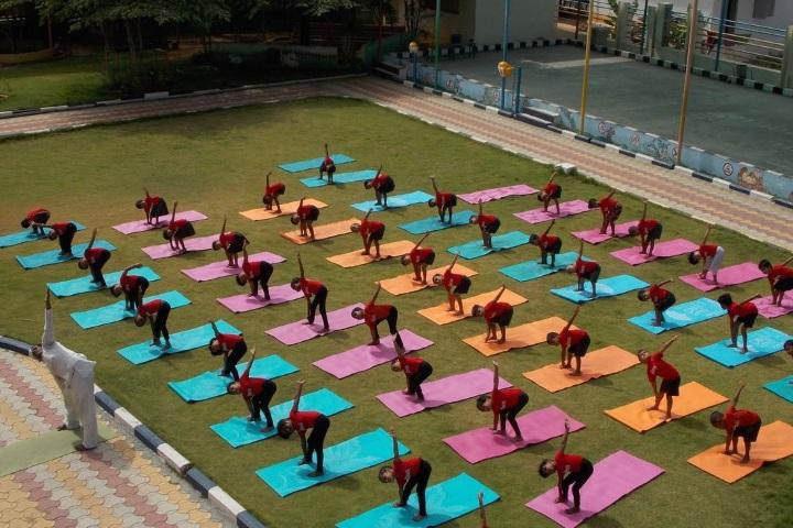 Nandha Central School-Yoga