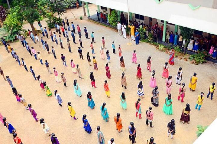 Narayanapillai Memorial Vidya Kendra-Morning Assembly