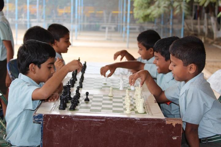 National Model Secondary School-Indoor Games