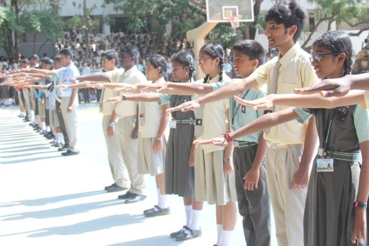 National Model Secondary School-Investiture ceremony