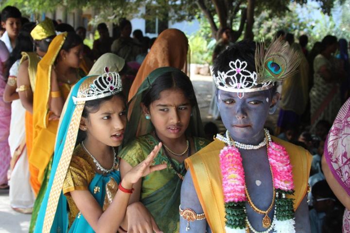 National Model Secondary School-Krishnastami