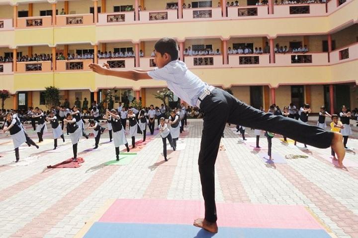 National Public School-Yoga Day