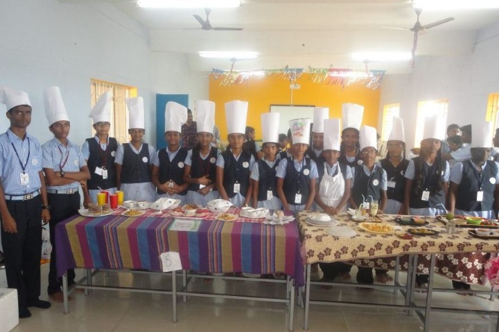 National Public School-Food Making Activity