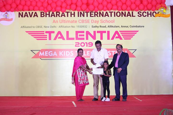 Nava Bharath International School-Annual Prize Distribution