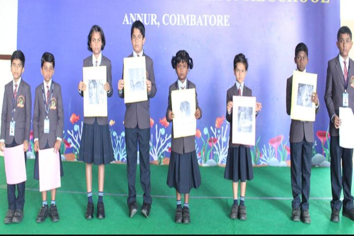 Nava Bharath International School-Awards