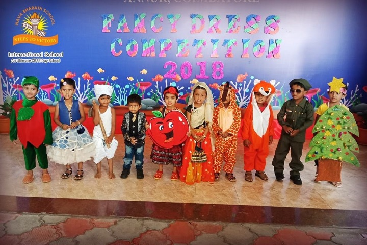 Nava Bharath International School-Fancy Dress Competition