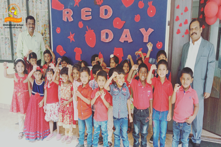 Nava Bharath International School-Red Day