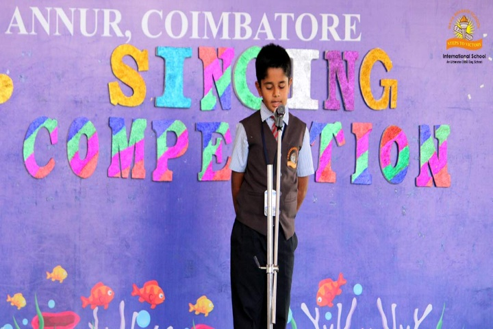 Nava Bharath International School-Singing Competition