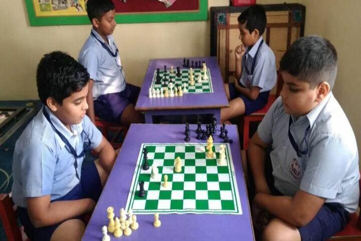 Navy Childern School-Indoor Games
