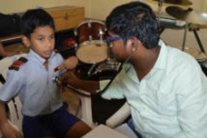 Navy Childern School-Medical Checkup